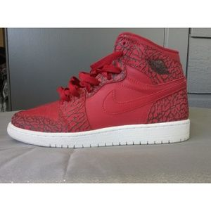 Air Jordan Retro 1 Big Kids sz 7 Red